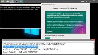 Kaspersky 2013 Licencia Infinita Original Español 32 & 64