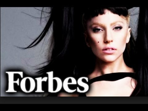 LADY GAGA #2 FORBES MOST POWERFUL CELEBRITY LIST 2013!