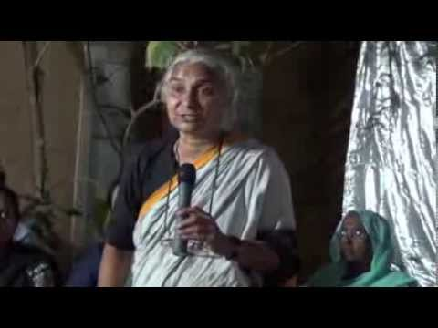 AAP Medha Patkar Interactive session With IIT Bombay students