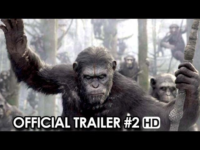 Dawn Of The Planet Of The Apes Official Trailer #2 Sneak Peek (2014)