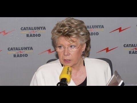 ¿Secesión? Viviane Reding deja tiritando a Mònica Terribas.