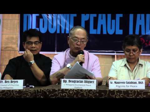 Tiamzons arrest, a dampener to peace talks - Bishop Iñiguez