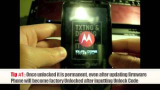 Unlock Motorola How To Unlock Any Motorola Phone By