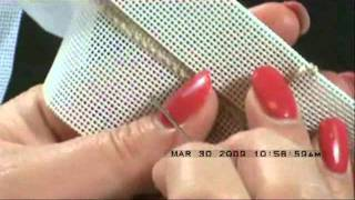 Needlepoint Binding Stitch Tutorial