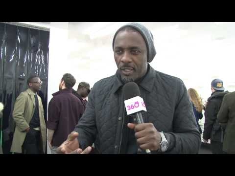 "Idris Elba tells London360 - ""People need to talk to each other more!"""