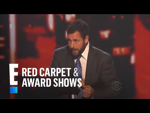 The People's Choice for Favorite Comedic Movie Actor is Adam Sandler