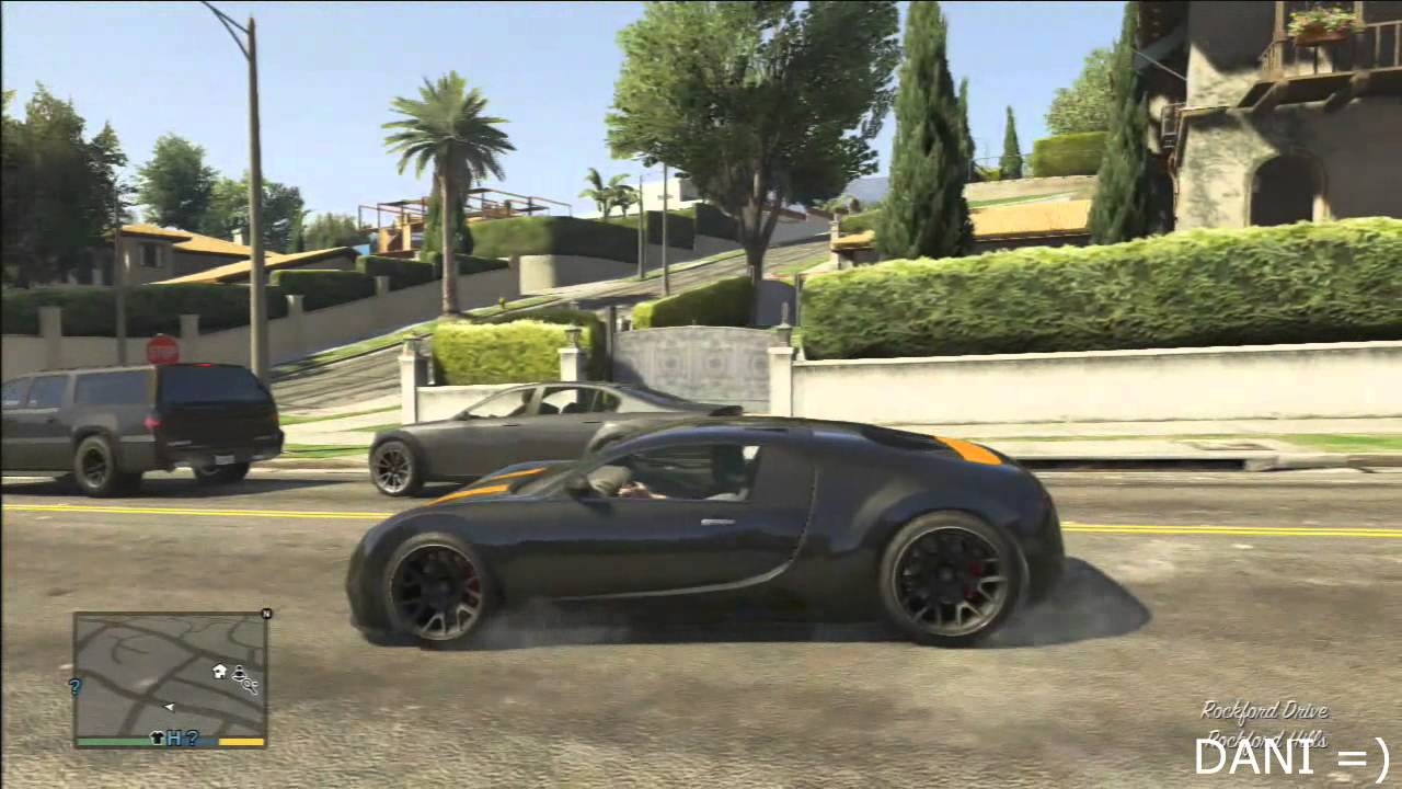 gta v bugatti veyron bugatti veyron in gta v youtube. Black Bedroom Furniture Sets. Home Design Ideas