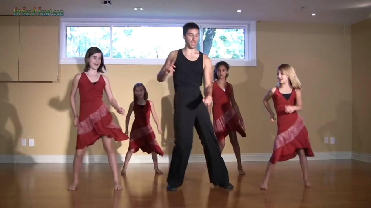 Salsa Basic Dance Step