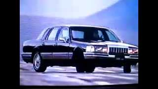 1990 Lincoln Town Car TV Commercial