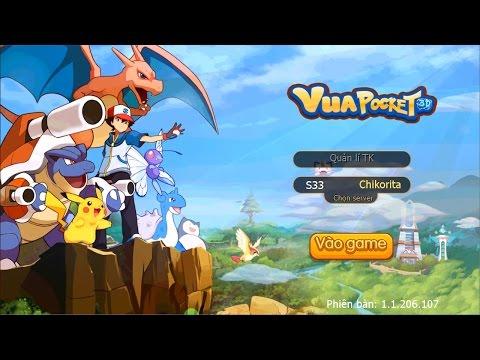 Trải Nghiệm Game Mobile Vua Pocket 3D - Pokemon