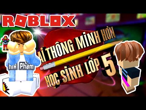Roblox | AI THÔNG MINH HƠN HỌC SINH LỚP 5 - Are You Smart | KiA Phạm