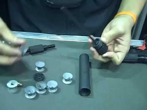 cấu tạo bên trong ống giảm thanh pro..