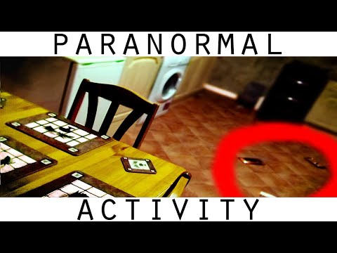 Real Paranormal Activity. Violent Ghost Caught on Tape