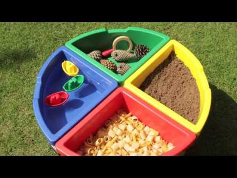 Exploration Circle 4 Sand and Water Tray For outdoor or indoor play