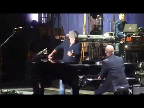 "Billy Joel / Brian Johnson ""You Shook Me All Night Long"" 3/21/14"