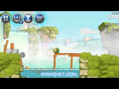 Angry Birds Star Wars 2 Naboo Invasion b1-8 3 stars