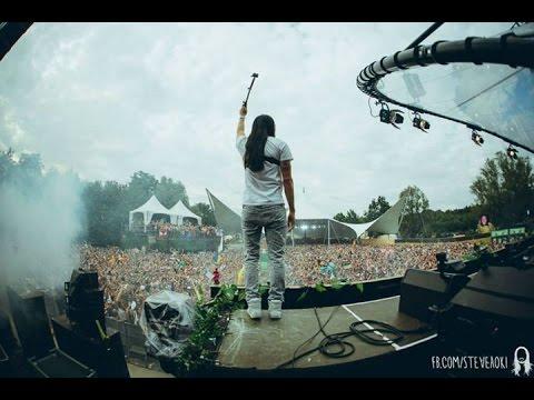 Steve Aoki Live At Tomorrowland 2014 - Dim Mak Stage Set
