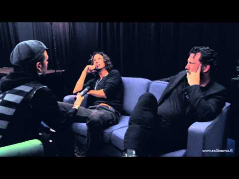 Soundgarden interview with Radio Nova Finland - part2 HD