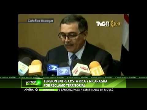 Tensión entre Costa Rica y Nicaragua por reclamo territorial