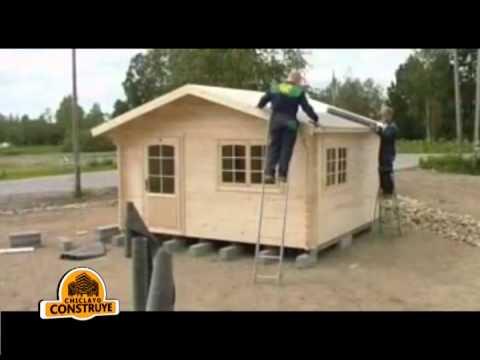 Construccion casa prefabricada