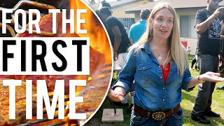 White People Go to a Black BBQ 'For the First Time'