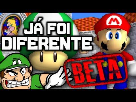 Já Foi Diferente: Super Mario 64 (BETA)