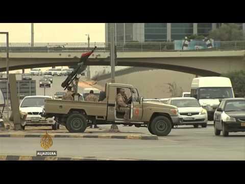 Release of Libyan rebels tied oil blockade