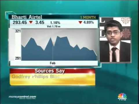 Bharti Airtel may touch Rs 284-285: Pritesh Mehta