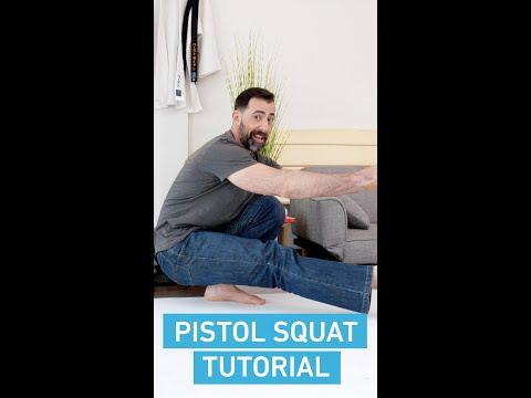 Pistol Squat: Tutorial