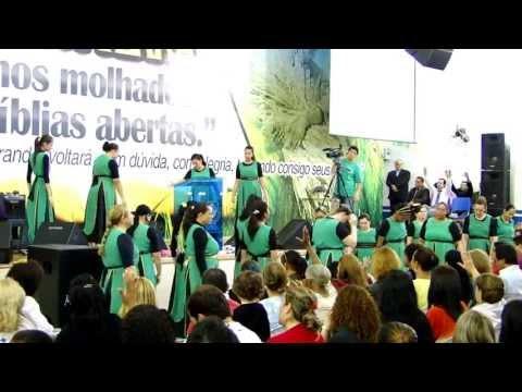 Coreografia Adoração Profética - Ninguém vai parar um adorador (André e Felipe)
