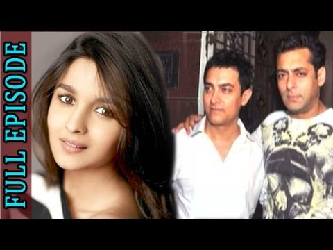 Planet Bollywood News - Aamir Khan spends the NIGHT with Salman Khan, 2 states actress Alia Bhatt mobbed by fans & more