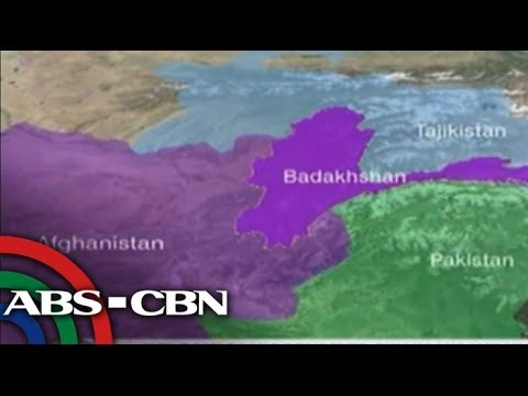 Hundreds killed in Afghanistan landslide