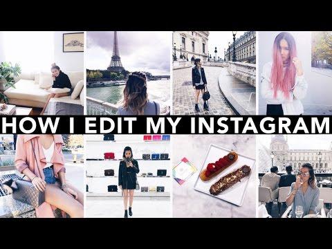 How I Edit My Instagram Photos || Sylvia Jade
