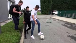 Juventus Street Football Challenge: Morata vs Touzani