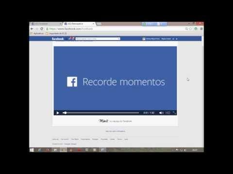 como faser meu filme no Facebook
