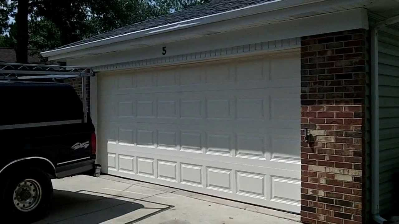 A Clopay 9130 Garage Doors In Woodridge Il The Install
