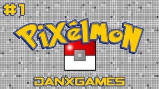 Minecraft + Pokemon = Pixelmon Ep.1 W/ DanxGames And