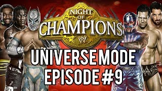 WWE 2k14 Universe Mode #09 Night Of Champions Pay Per