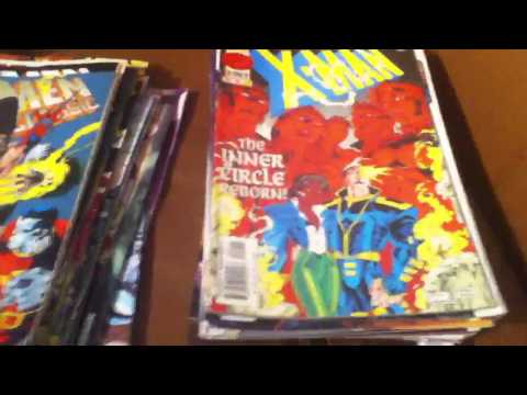 Giant comic haul