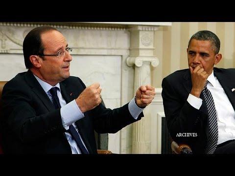 Obama-Hollande: vertice su politica internazionale ed economia