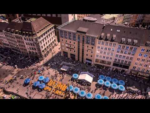 Munich City Timelapse 15.06.2013 (watch in best quality)