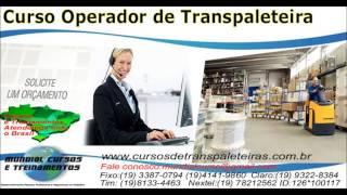 Curso operador de transpaleteira el�trica  - youtube