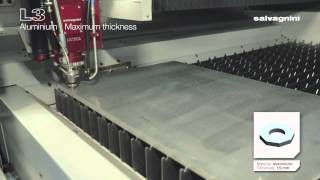 Cutting aluminum 15 mm