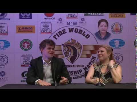 Exclusive interview with World Champion Magnus Carlsen