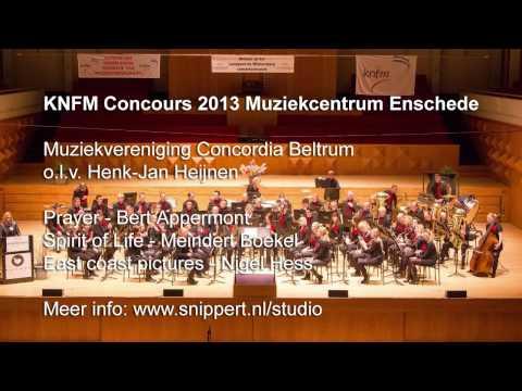 KNFM Concours 2013 Muziekcentrum Enschede - Concordia Beltrum