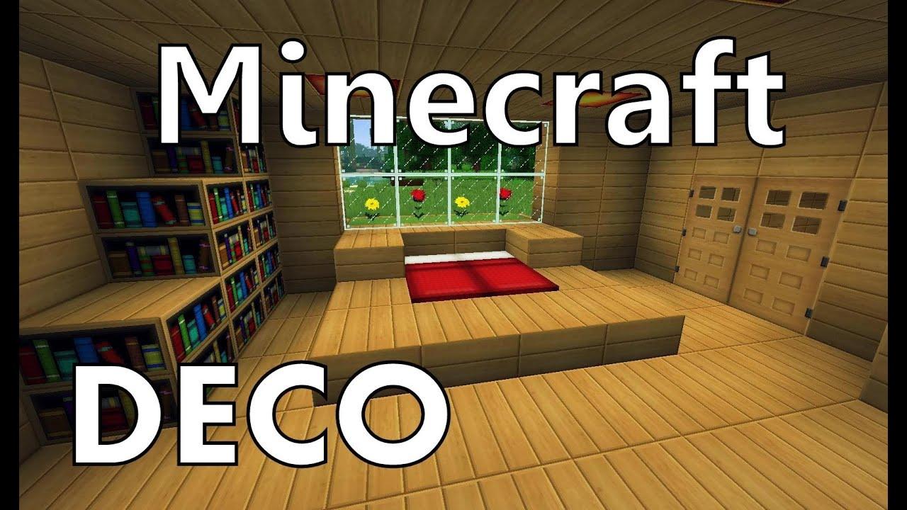 Minecraft Comment Cr Er Une Belle Chambre Youtube