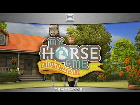My Horse And Me : Riding For Gold (part 1/5) (Horse Game)