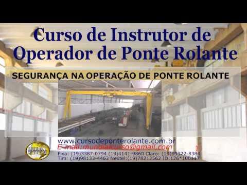 Curso de Instrutor de Operador de Ponte Rolante