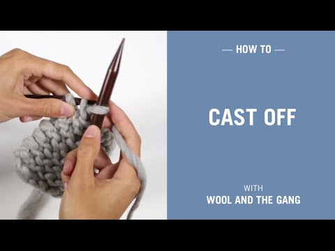 How to cast off