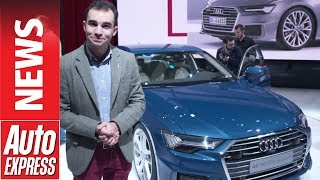 New Audi A6 unveiled to take on the BMW 5 Series and Mercedes E-Class. Auto Express.